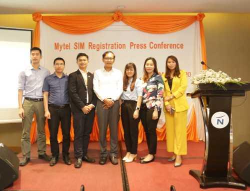 Mytel မှ ဆင်းကတ်မှတ်ပုံတင်ခြင်းဆိုင်ရာ အချက်အလက်များအား အသိပေးကြေညာသောအနေဖြင့် စာနယ်ဇင်းရှင်းလင်းပွဲကျင်းပ